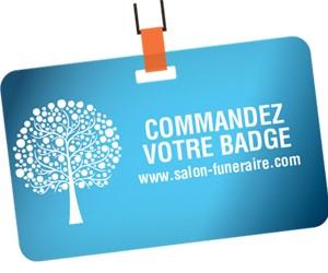 Commande de badge Salon du Funéraire - CARBONE 14